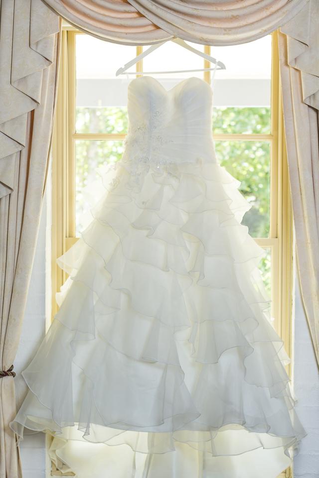 Hunter Valley Wedding Photography- Wedding dress