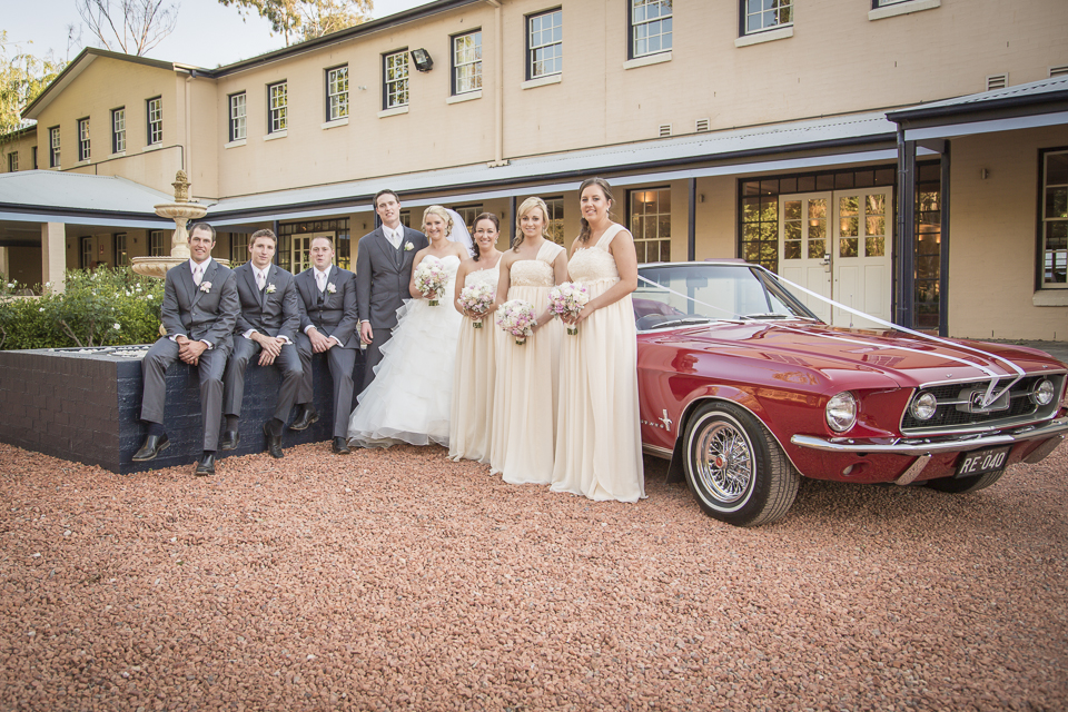 Hunter Valley Wedding Photography- The bridal party