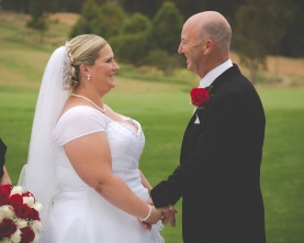 Hunter Valley Wedding Photography- Special moment together