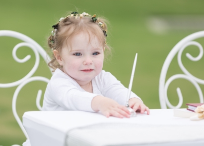 Hunter Valley Wedding Photography- The flower girl