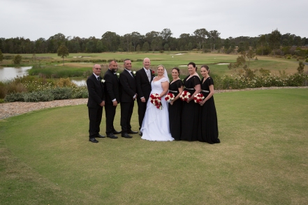 Hunter Valley Wedding Photography- Fun with the bridal party