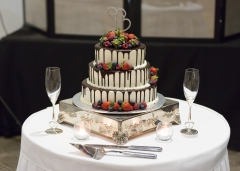 Hunter Valley Wedding Photography- The wedding cake